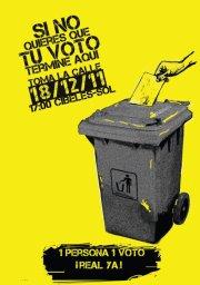 El Partido Humanista apoya la manifestación del 18D Una Persona un voto