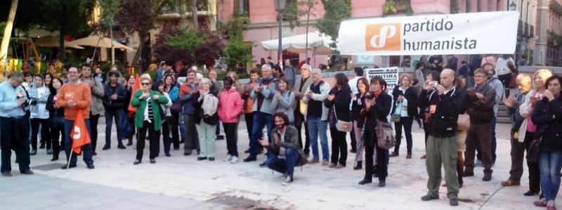 Cierre de campaña en Madrid