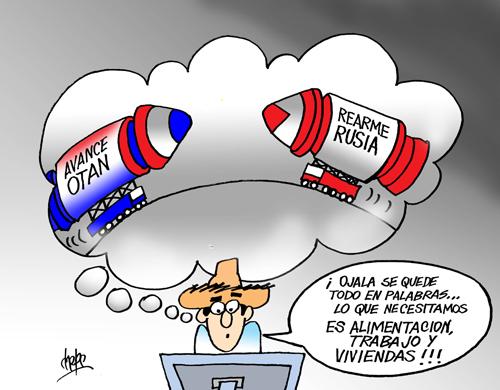 Sobre el despliegue de la OTAN en España