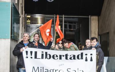 El PH pide en la embajada Argentina la libertad de Milagro Sala