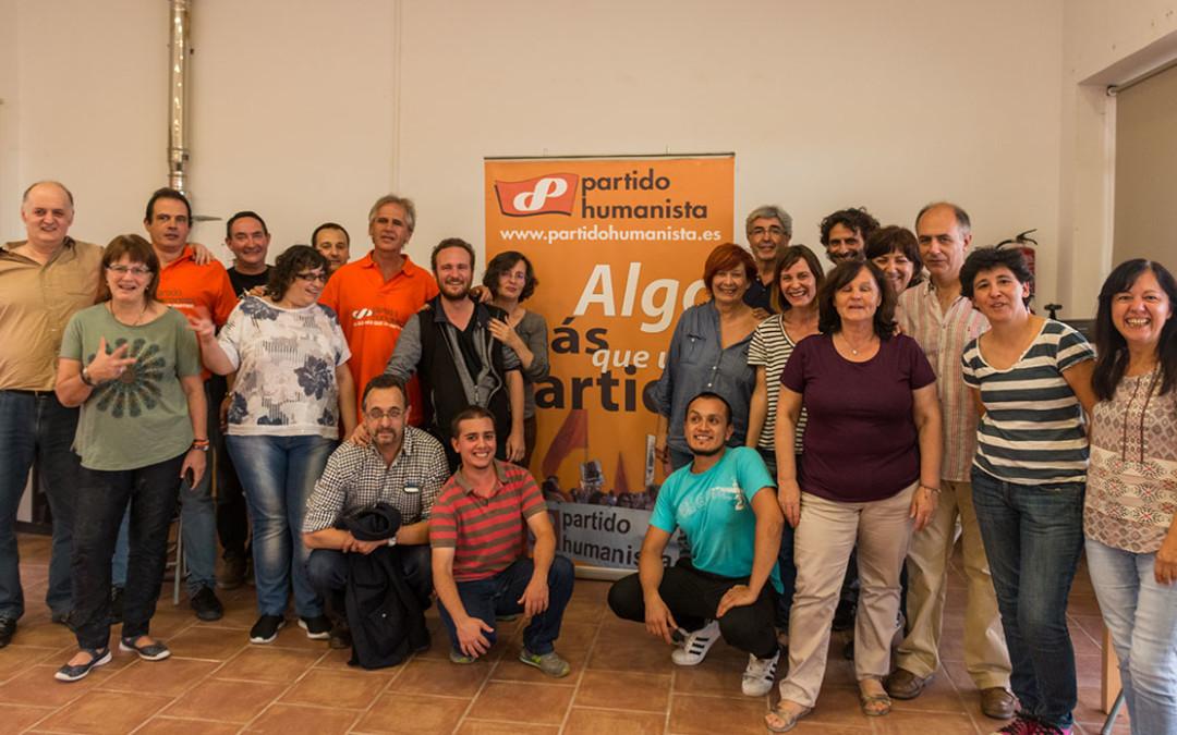 Encuentro del Partido Humanista de España en Parque Toledo