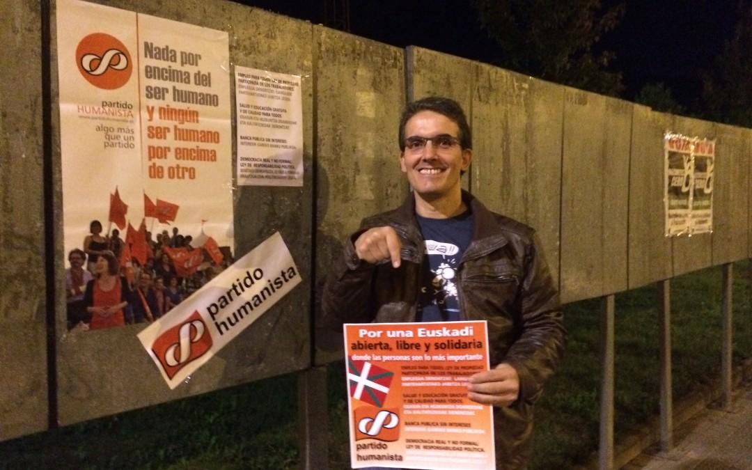 El Partido Humanista vuelve a presentarse a las Elecciones Vascas