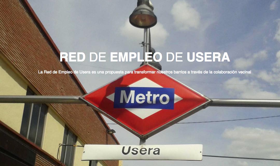 Red de Empleo de Usera: una iniciativa humanista para mejorar el reparto del trabajo