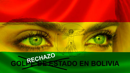 Rechazo al golpe de estado en Bolivia