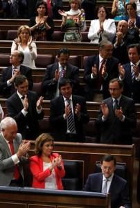 Aplausos Congreso Recortes