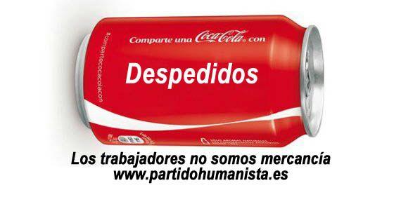Fórmula de la Coca Cola = beneficios + despidos