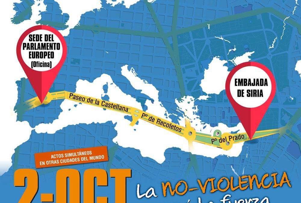 Dos de octubre, día Internacional de la No Violencia
