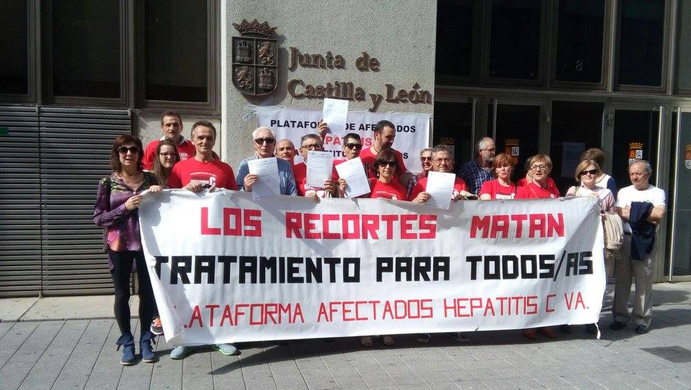 El Partido Humanista en apoyo a los afectados por la hepatitis C