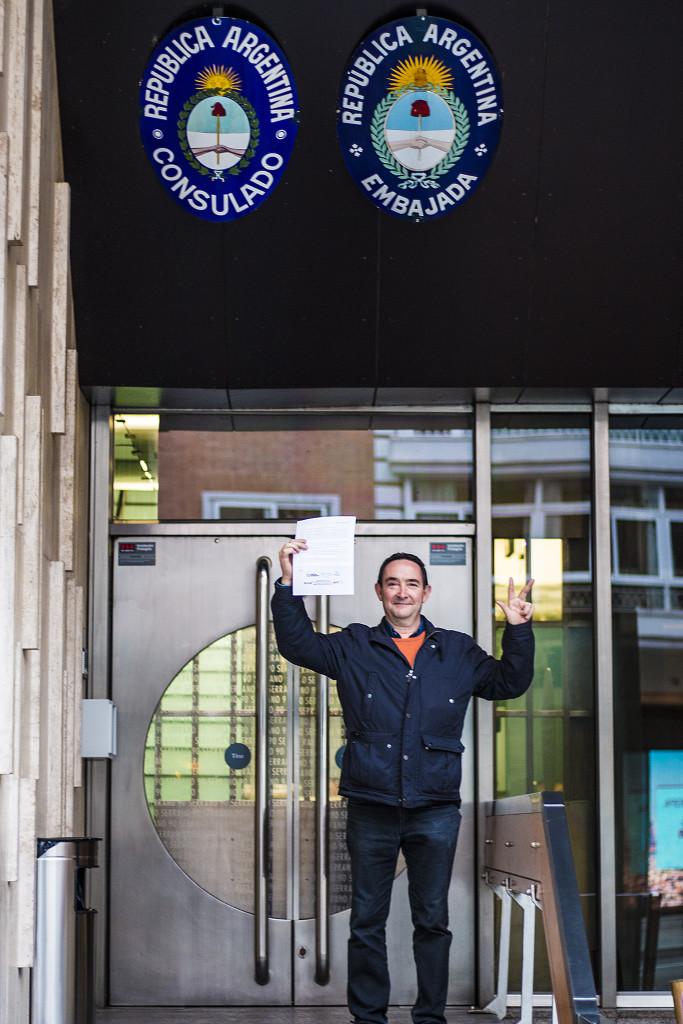 Embajada Argentina - Milagro Sala